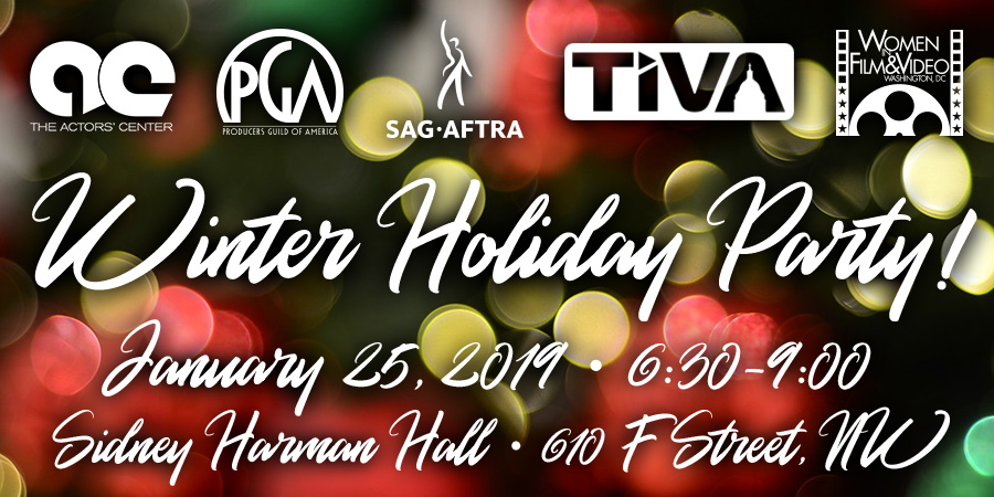 TIVA/WIFV/SAG-AFTRA/PGA/Actors' Center Winter Holiday Party